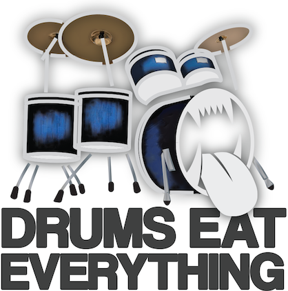 drumseateverythinglogo white bacground